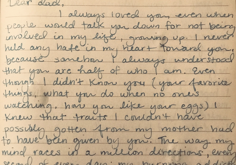 Letter to My Father | My Ivy Diary